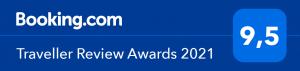 Booking com Traveller Award